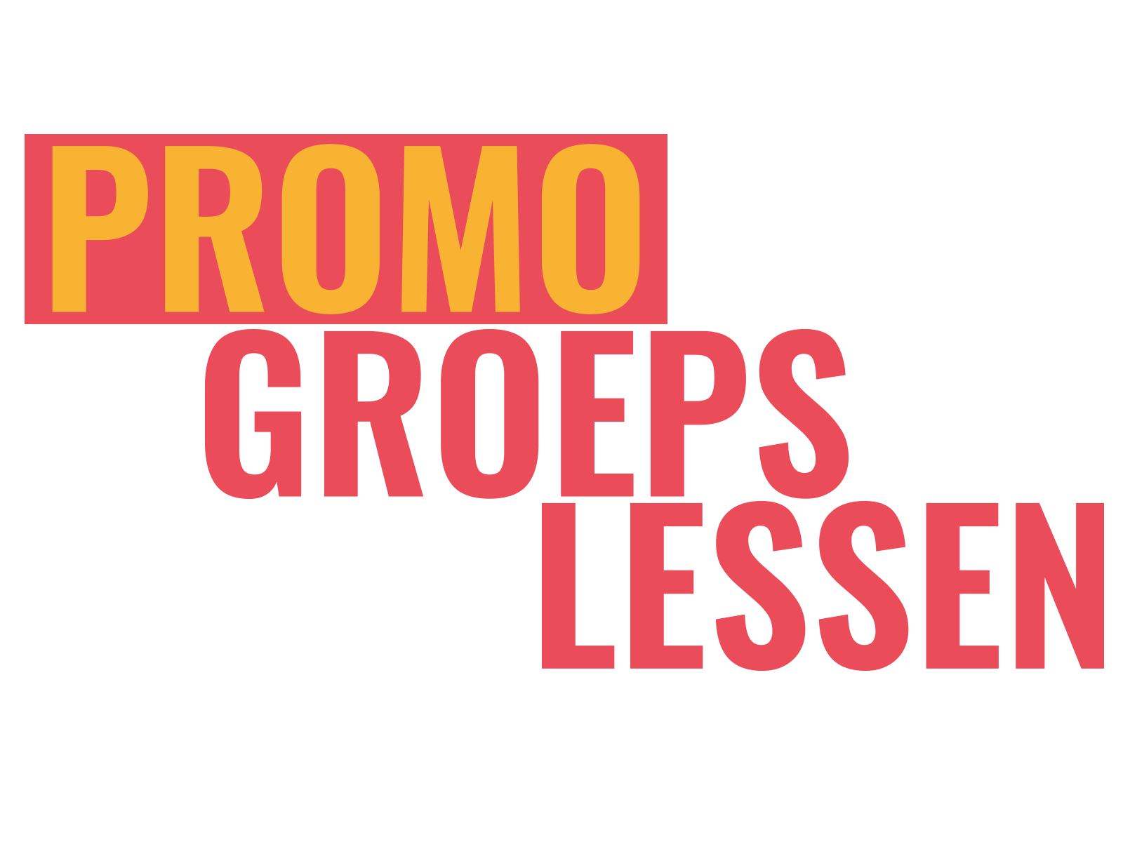 Promo Groepslessen